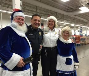 Blue Santa Shopping Spree with Austin Police Chief Art Acevedo