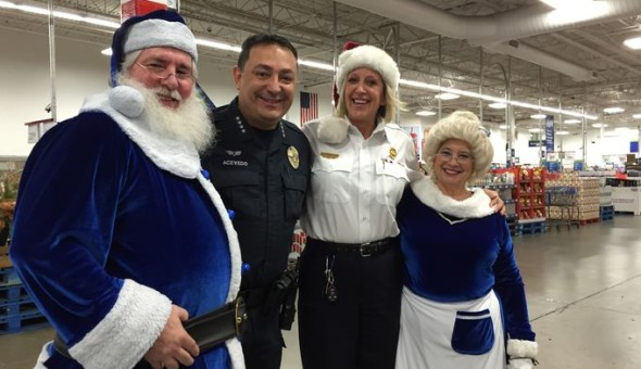 Blue Santa Shopping Spree with Austin Police Chief Art Acevedo